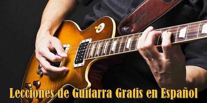 Lecciones guitarra gratis